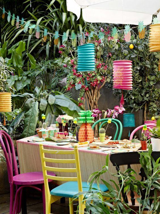 Decoration Jardin Deco Exterieur Style Tropical Style Colonial Style