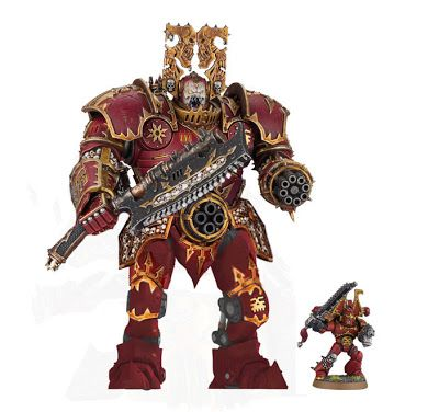 Spikey Bits Warhammer 40k, Fantasy, Conversions and Painted Miniatures: Legs for Khorne? Possible New Titan Conversion