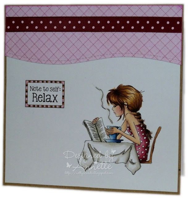 Netty's Cards: Note to self: Relax