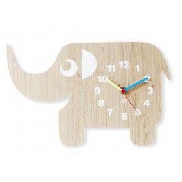 Elefant Klokke