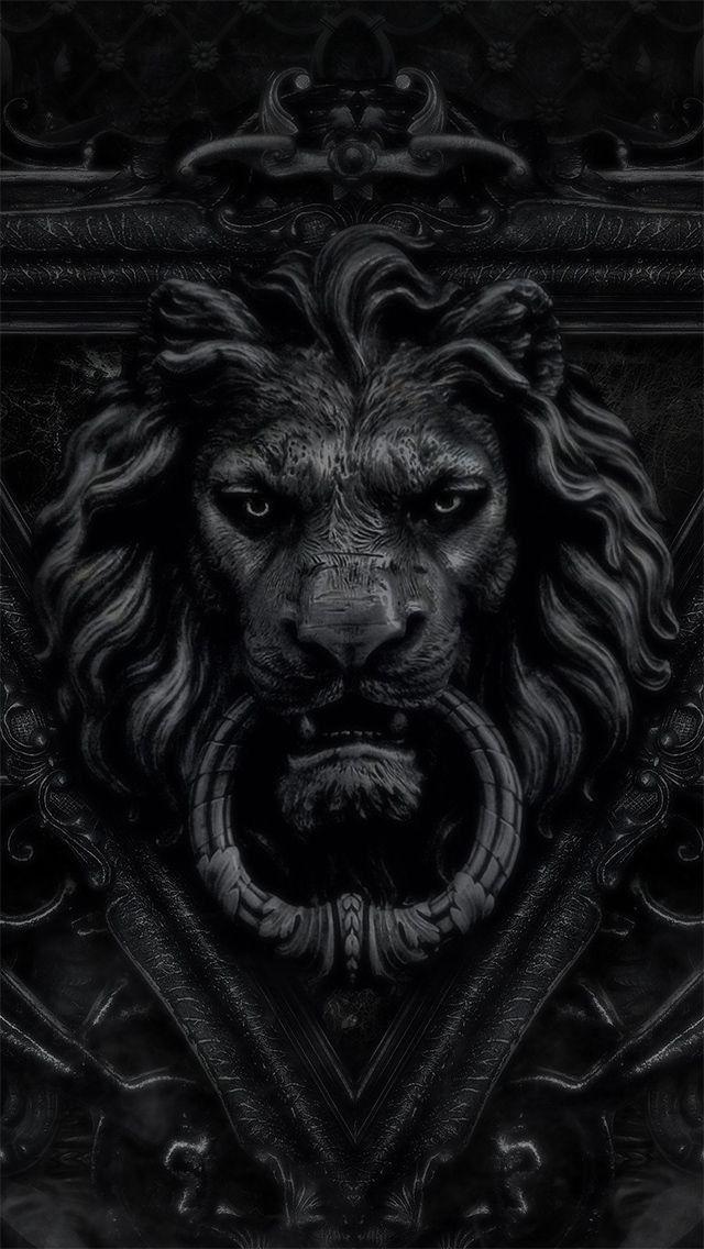 Lion Door Knocker #HelloBlack