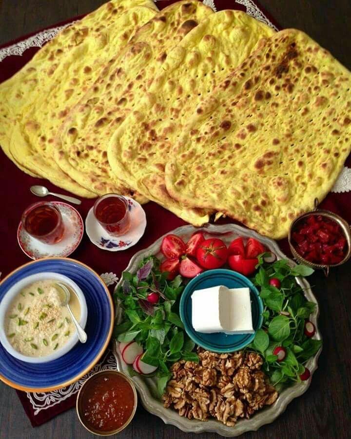 Persian breakfast ⚫