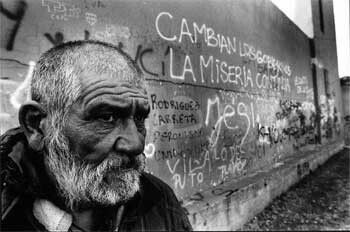Non siamo qui per trasportare la miseria del mondo