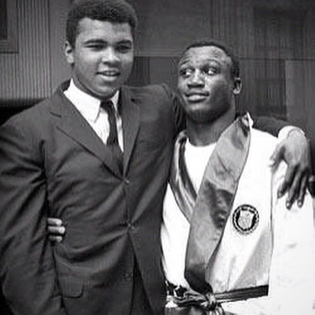 FEED | Websta - get1later #TBT .......Muhammad Ali & Joe Frazier (1964) together during Olympic Boxing (when Joe was A Member of The Team). Who New Years Later These Friends would become staunch Rivals & put on three of the Greatest Heavyweight Fights of ALL TIME!!! #AliFrazier123 #HeavyweightBoxing #Eicons