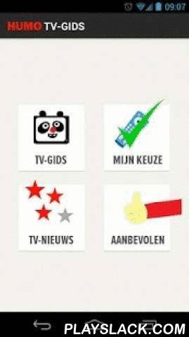 Humo's Tv-gids  Android App - playslack.com , Voor je dagelijkse portie tv slechts één adres: Humo's uiterst handige en eenvoudige tv-gids met de meest up-to-date programma-info! • Plan je tv-avond tot een week vooruit • Stel herinneringen in voor je favoriete tv-programma's en -reeksen • Deel je keuze met je vrienden op Facebook en ontdek waar zij naar kijken • Lees Humo's messcherpe tv-reviews en tv-tips