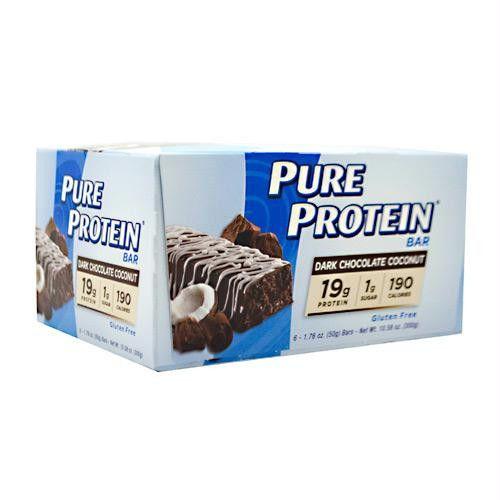 Pure Protein Pure Protein Bar Dark Chocolate Coconut - Gluten Free