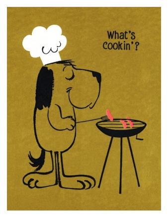 Retro Barbecue - What's cookin'?