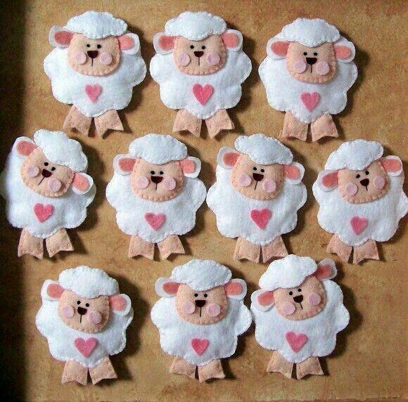 ovejitas hechas en goma eva - Buscar con Google