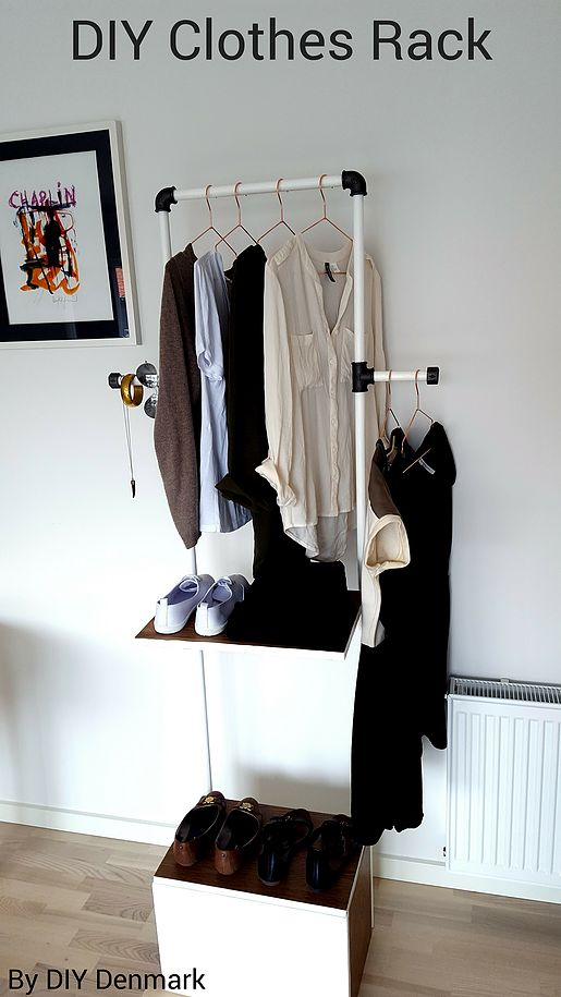 Organize and plan your outfits - DIY project | DIY Denmark | Design Your Life