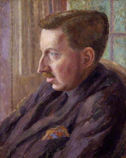 E. M. Forster by Dora Carrington   National Portrait Gallery, London Date painted: 1920 Oil on canvas, 50.8 x 40.6 cm Collection: National Portrait Gallery, London Carrington's portrait of Forster was achieved without a sitting. It was much admired by Henry Lamb who wrote to her: 'I think there is something so very good about your head of Forster'.