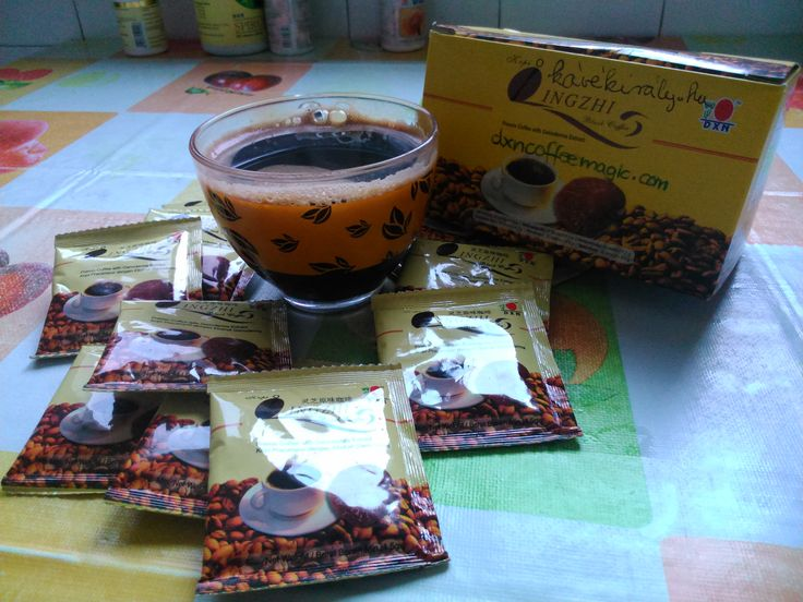 A cup of health: black coffee with Lingzhi from DXN http://www.dxncoffeemagic.com/