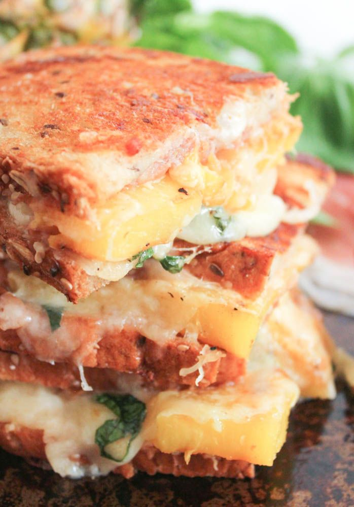 The Ultimate Hawaiian Grilled Cheese - Domesticate ME!