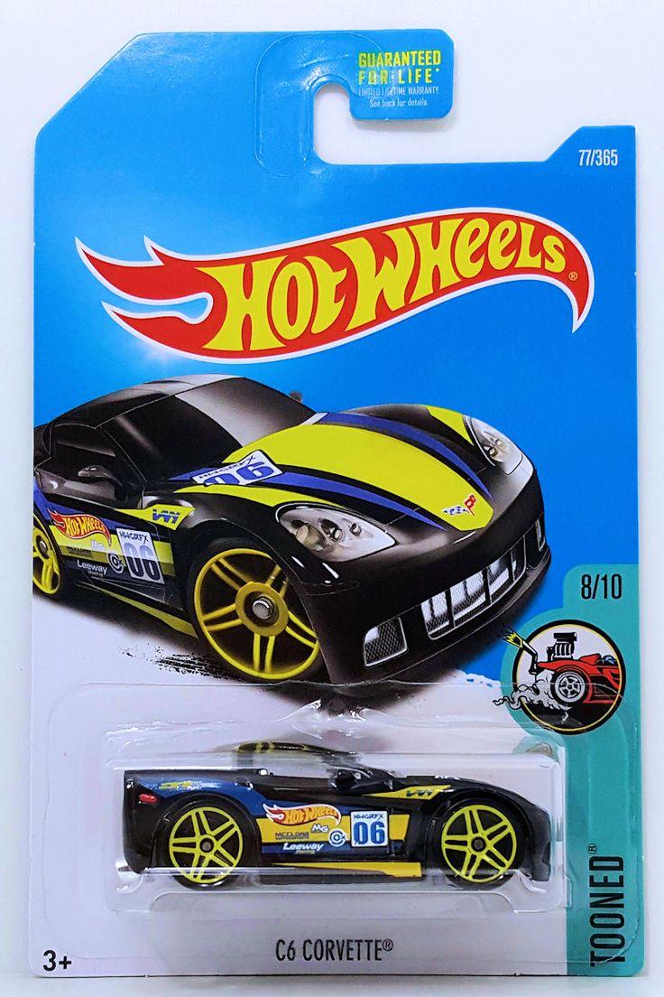 "Hot Wheels ""Tooned"" C6 Corvette"
