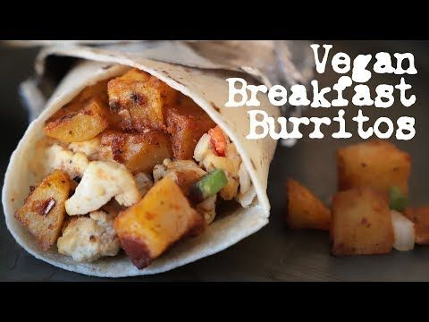 I Wanted My First Recipe Of 2019 To Be Something That Was Super Easy To Make That Would B Delicious Vegan Recipes Vegan Breakfast Easy Vegan Breakfast Burrito