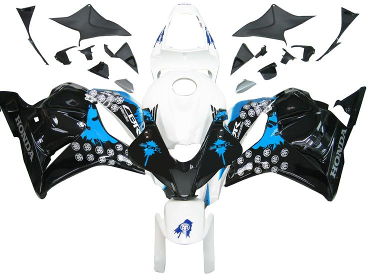 Mad Hornets - Fairings Honda CBR 600 RR White Black Blue Coin RR Racing (2009-2012), $449.99 (http://www.madhornets.com/fairings-honda-cbr-600-rr-white-black-blue-coin-rr-racing-2009-2012/)