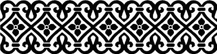 Индийский орнамент S