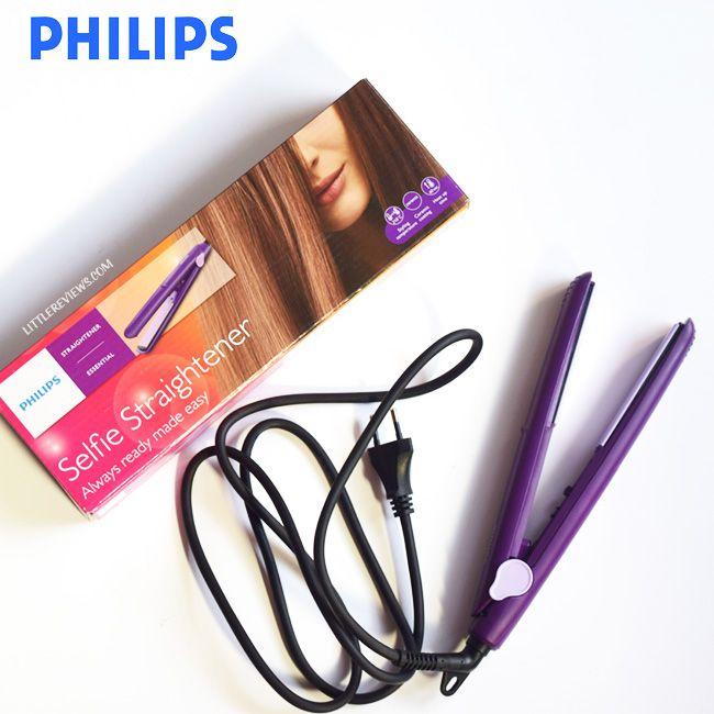 PHILIPS SELFIE HAIR STRAIGHTENER REVIEW