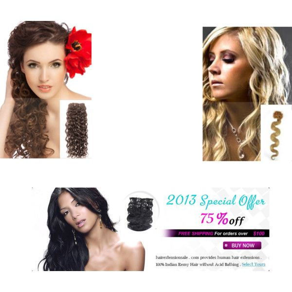 """""""Remy's Hair Extension"""" by remyhairextensionshop-com on Polyvore"""