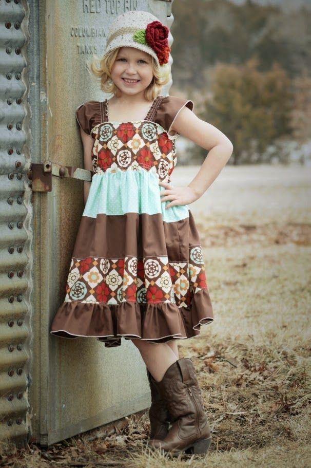 Free Patterns: Kambria's Dress and Kaya's Cloche