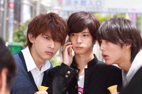 "Ryo Yoshizawa, Yudai Chiba n Taishi Nakagawa, J drama, sports comedy, ""Suikyu Yankees(Water Polo Yankees)"", 2014. Plot & Ep.1-10: http://dramanice.com/drama/suikyu-yankees-detail [Eng. Sub] So funny n nice drama!!!"