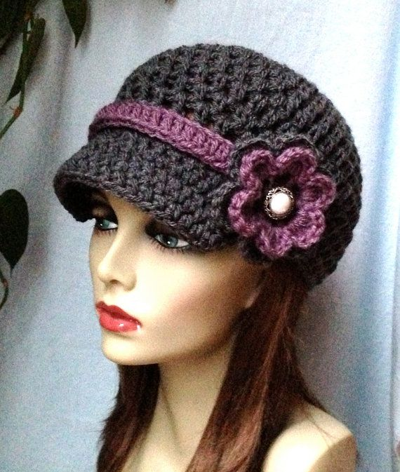 142 best hats images on Pinterest | Crochet hats, Crocheted hats and ...