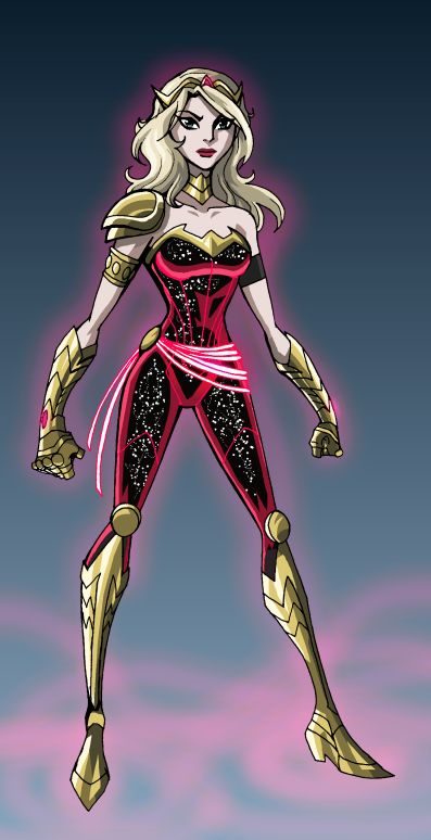 Wonder Girl Redesign by ~LucianoVecchio on deviantART