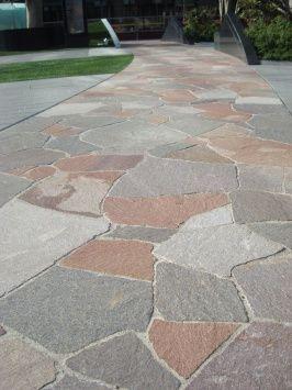 Eco Outdoor - Flooring - Crazy Paving - Porphyry- Natural Stone
