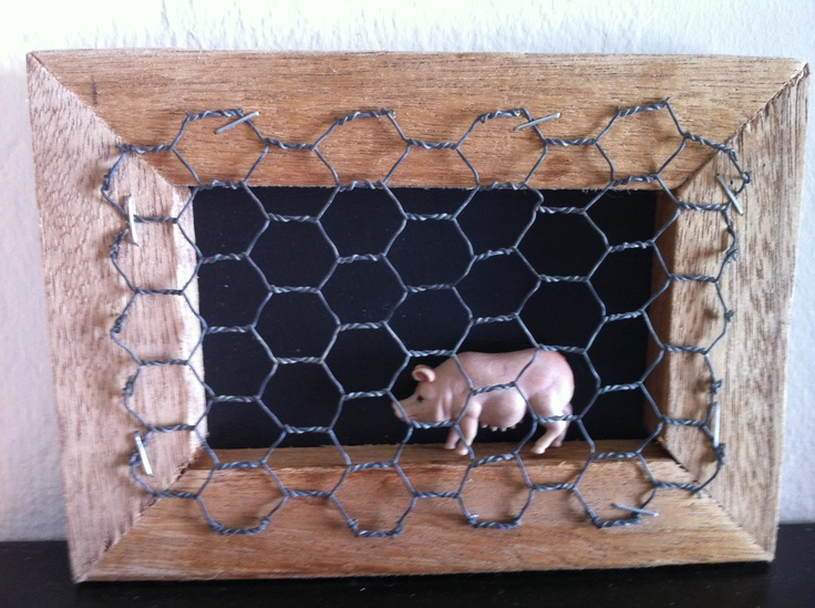 Keeping that piggy safely in it's pen!