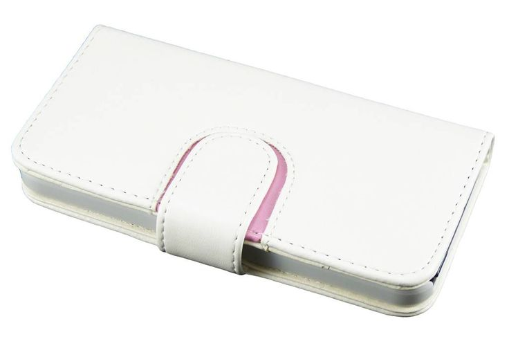 Wit Bookcase hoesje voor de iPhone 5