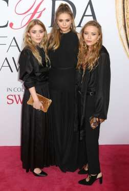 Ashley, Elizabeth et Mary Kate Olsen aux CFDA Fashion Awards 2016 - Abaca
