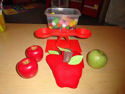 Izzie, Mac and Me: Kindergarten Apple Unit