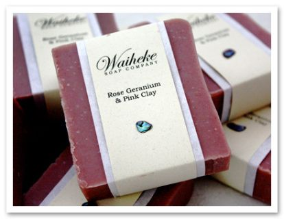 Denise Whitfield makes fantastic natural soaps coloured and fragranced using all natural ingredients.