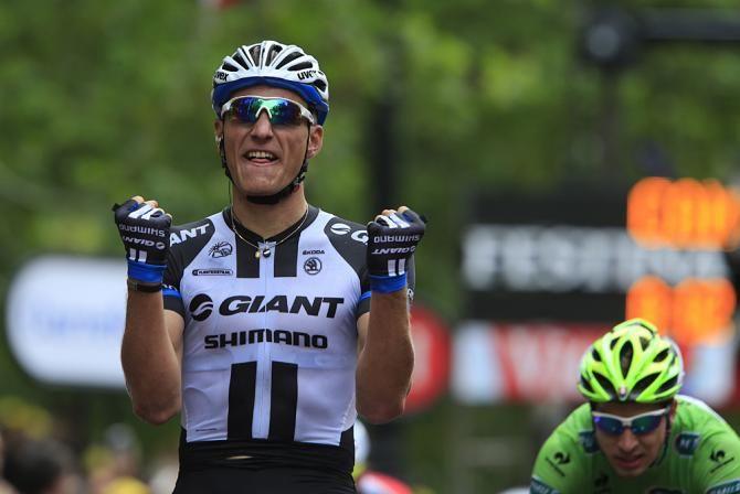Tour de France 2014 - Stage 3: Cambridge - London 155km photos - Marcel Kittel (Giant-Shimano) wins the Tour de France stage in London