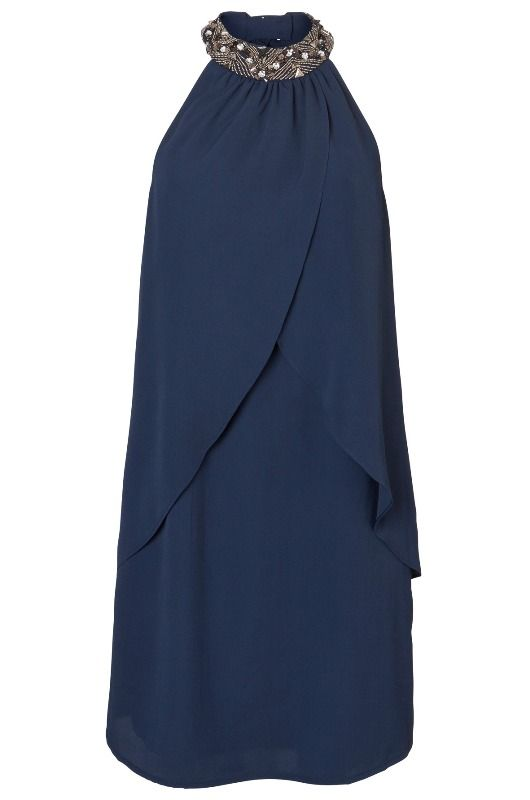 CELLA HALTERNECK SHORT DRESS - Holiday Countdown  #PINtoWIN