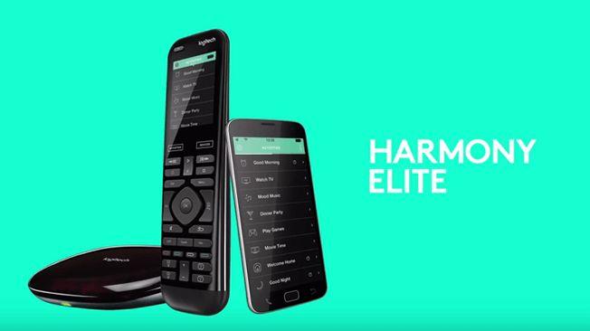 Harmony är en intuitiv, integrerad fjärrkontroll för hemunderhållning och kontrollenheter i ditt hem. Universalfjärrkontrollen Harmony Elite är den smarta fjärrkontrollen som förenklar ditt liv hemma.