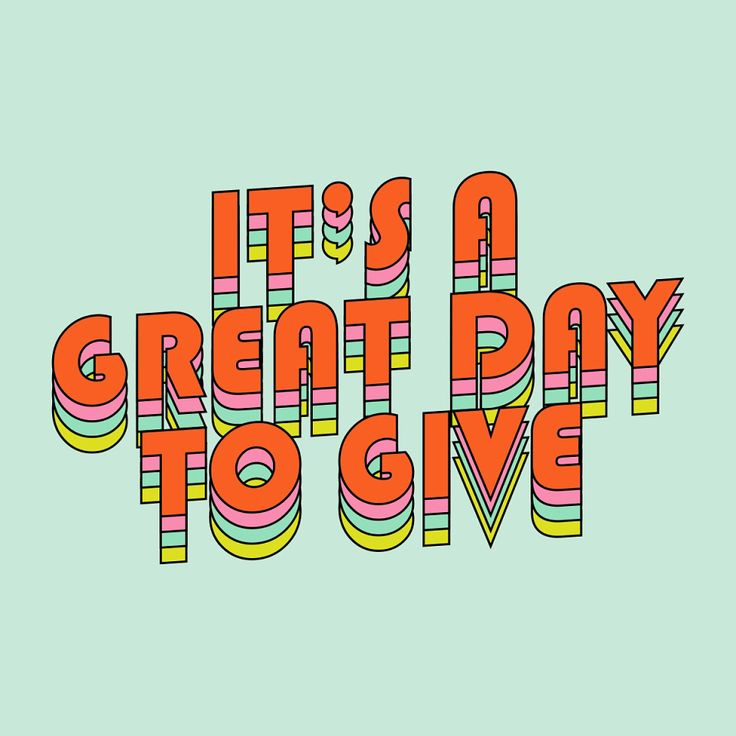 "It's a great day to give - by tessa forrest (@subliming.jpg) on Instagram: ""A little collab work I did with @yoobi about giving back"" #christmas"