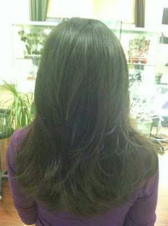 Long Layer Back View Hair Cuts Pinterest Hair Cuts