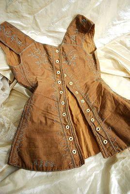 Calla Lilies & Corsets: Rare 1820 Corset