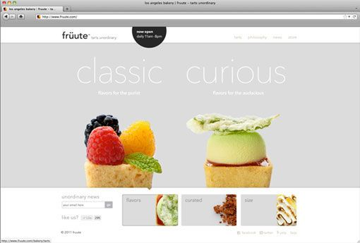 Fruute web site - by Ferroconcrete | http://www.ferro-concrete.com/
