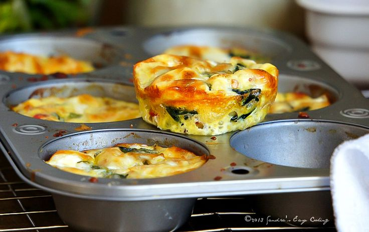 Mini Meatless Frittata Cups