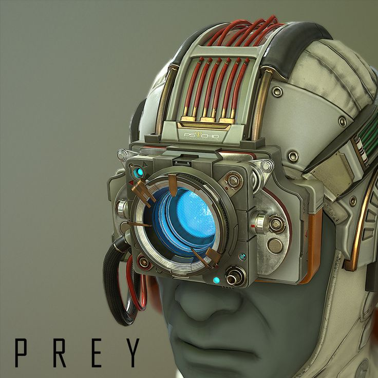 The Psychoscope, from Arkane Studios' critically acclaimed title, Prey., Jonathan Rush on ArtStation at https://www.artstation.com/artwork/ZZB5G