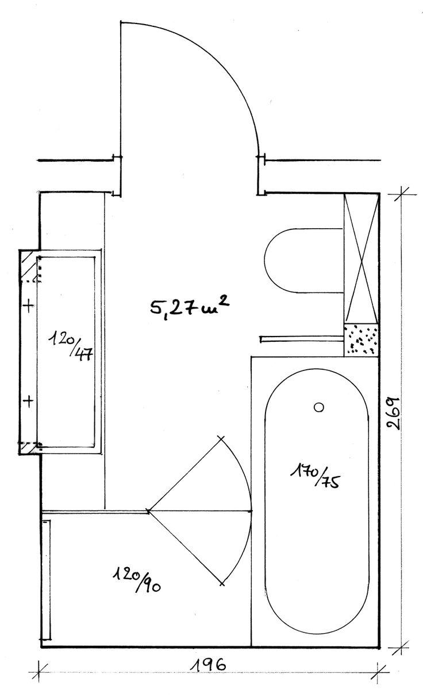 Die besten 25 badezimmer grundriss ideen auf pinterest for Eigenheim grundrisse