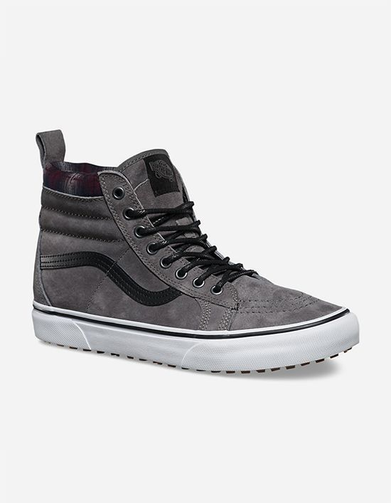 VANS Sk8-Hi Grey MTE Mens Shoes - nice casual mens shoes, mens casual shoes discount, cheap mens dress shoes online