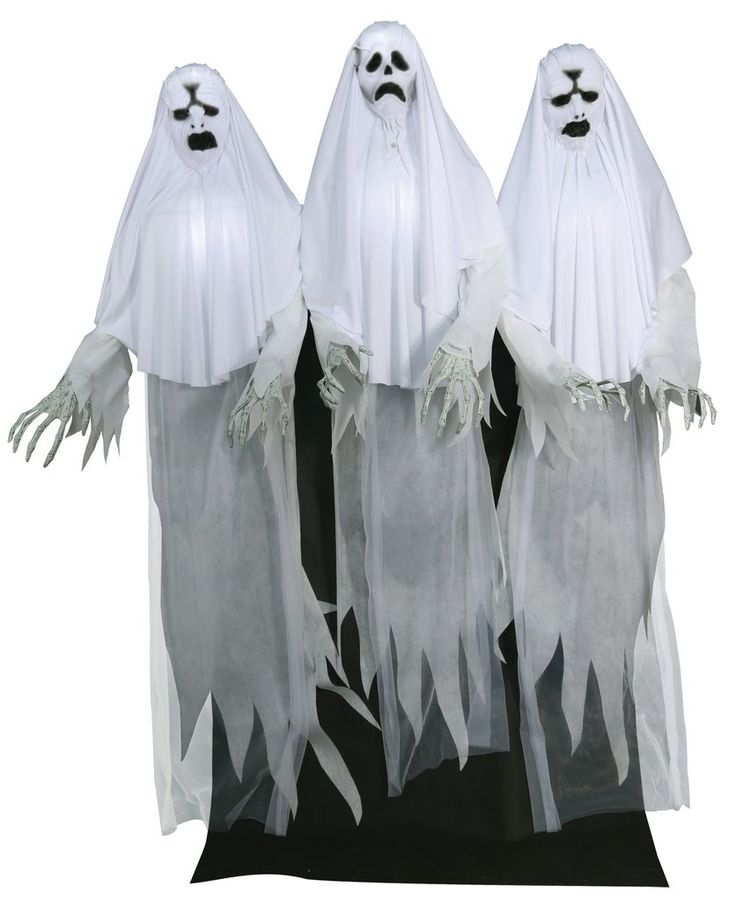 haunted ghost trio animated halloween prop - How To Make Animated Halloween Props