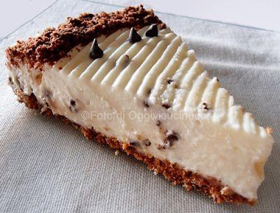 ©Oggi vi cucino così!Cheesecake con Crema Vaniglia Stracciatella