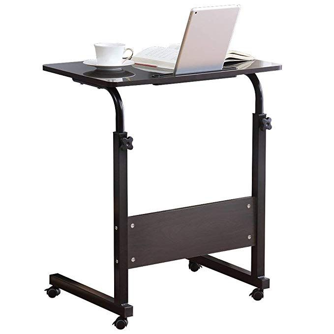 Computer Student Laptop Desk Height Adjustable Wooden Laptop Table