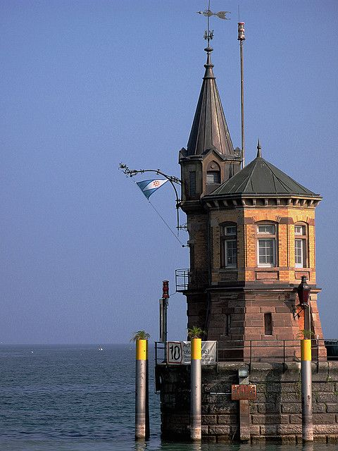 Constance harbor #lighthouse, #Germany http://www.flickr.com/photos/23206499@N03/3969074084/in/set-72157622534382939/