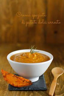 CosebuonediAle: crema speziata di patate dolci arrosto
