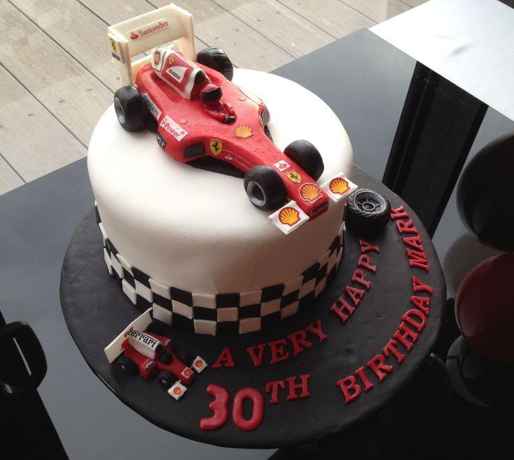 Formula 1 Cake