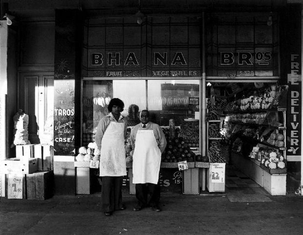 Robin Morrison : Bhana Bros, Ponsonby Road.